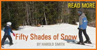 Fifty Shades of Snow